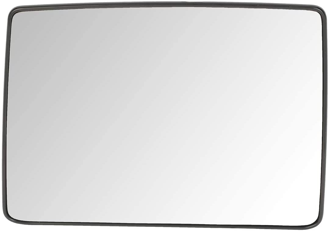7L3Z17K707F OE Style Driver/Left Side Towing Mirror Upper Glass Lens w/Heated Replacement for Ford F150 04-14