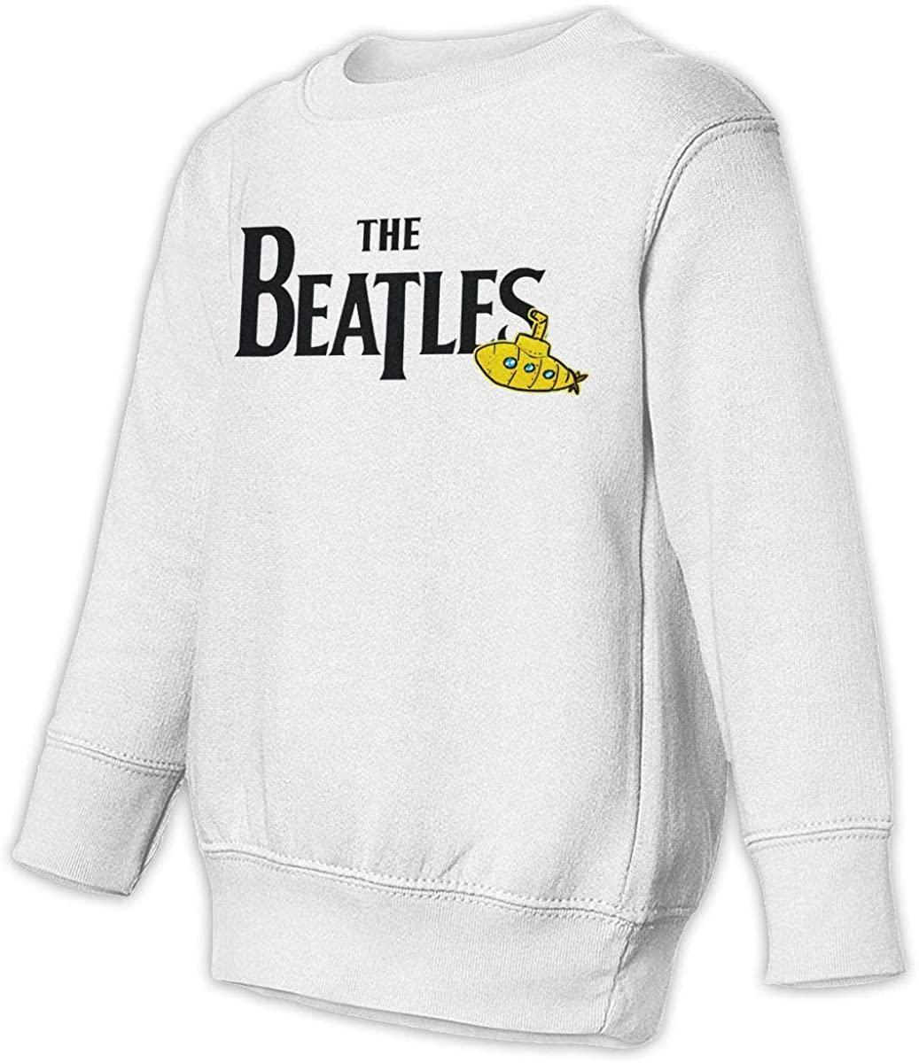NOT Beatles Unisex Sweatshirt Youth Boy and Girls Pullover Sweatshirt White