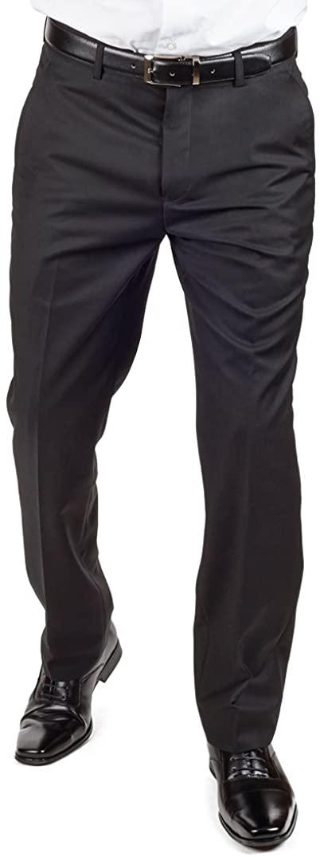 azar Pants (36 Waist, Black)