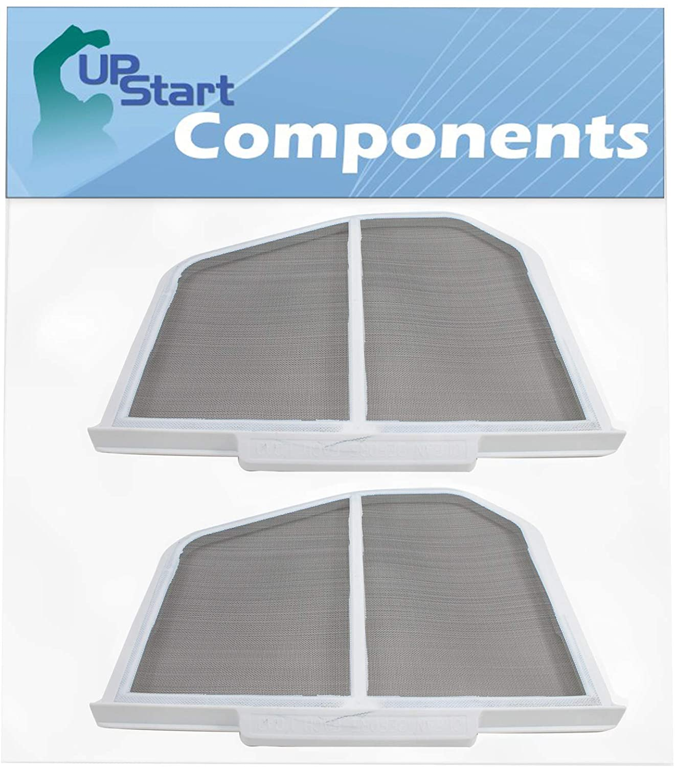 2-Pack W10120998 Dryer Lint Screen Replacement for Whirlpool WGD9600TA2 - Compatible with 8066170 Lint Screen Filter Catcher
