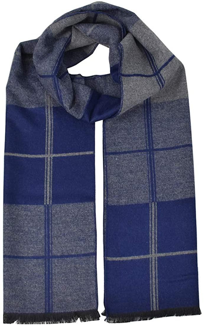Winter Scarf for Men Cashmere Feel Soft Scarves for Man