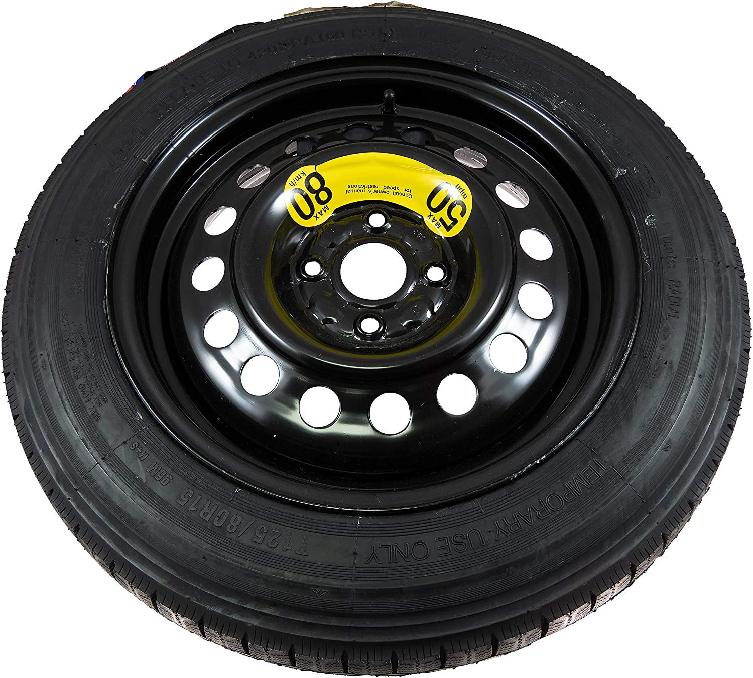 APDTY 138596 Spare Tire And Wheel Only 1RF40AC900