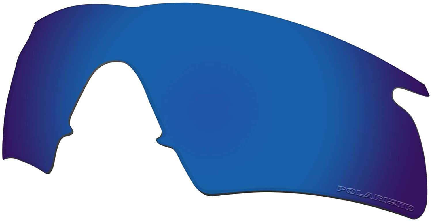 Lenses Replacement for Oakley M Frame Hybrid Sunglass Polarized - Deep Water Mirror