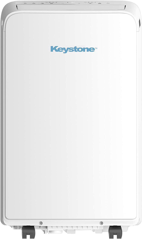 Keystone KSTAP13MAC 115V Portable Air Conditioner, White