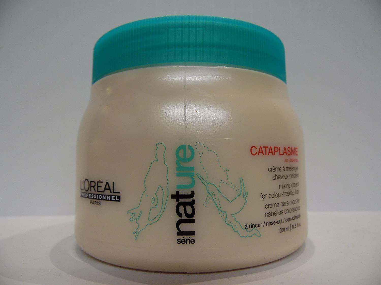 L'Oreal Professionnel Nature Serie - Cataplasme Mixing Cream (For Colour-Treated Hair) - 500ml/16.5oz