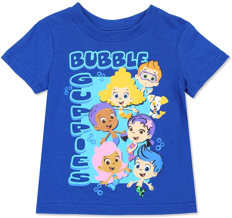 Nickelodeon Boys' Bubble Guppies Short Sleeve T-Shirt