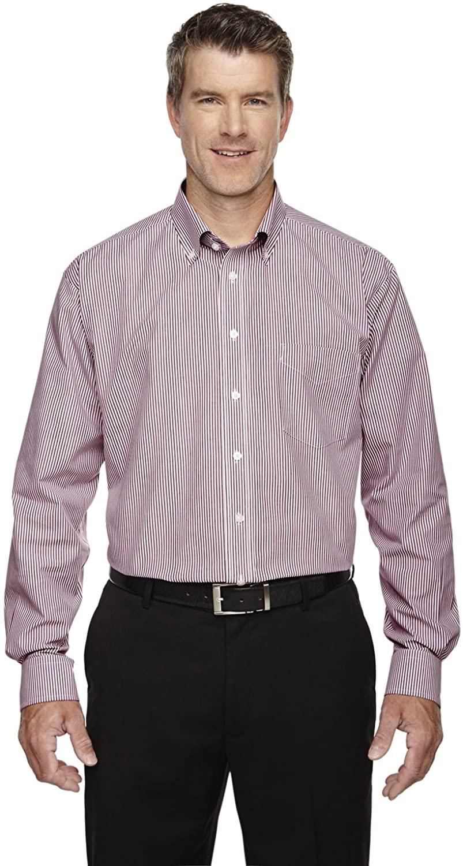 Devon & Jones Men's Crown Collection Banker Stripe Shirt