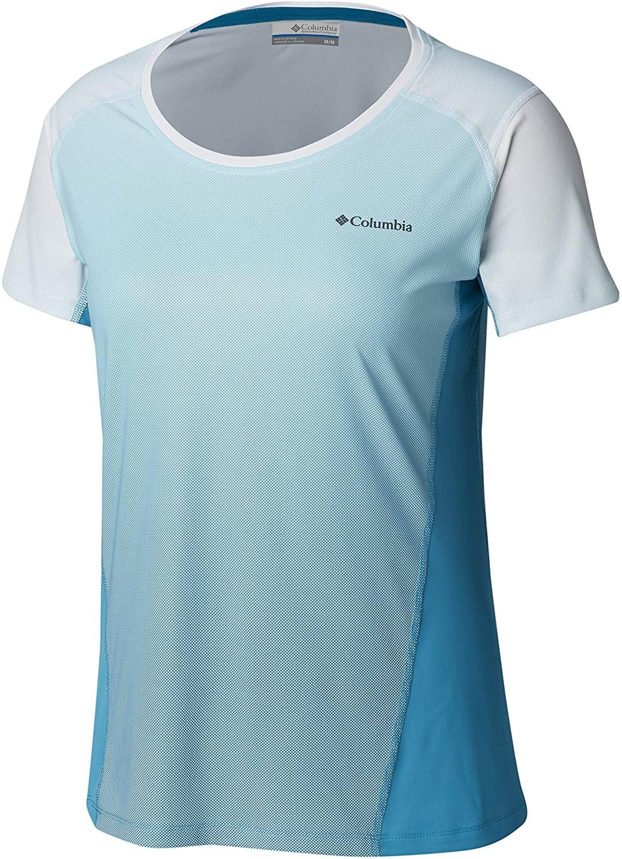 Columbia Women's Solar Chill 2.0 Short Sleeve Shirt, UV Sun Protection, Moisture Wicking
