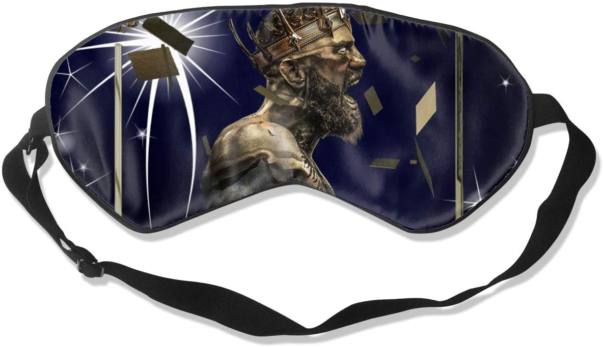 WushXiao Luanelson Teens Conor McGregor Fashion Personalized Sleep Eye Mask Soft Comfortable with Adjustable Head Strap Light Blocking Eye Cover