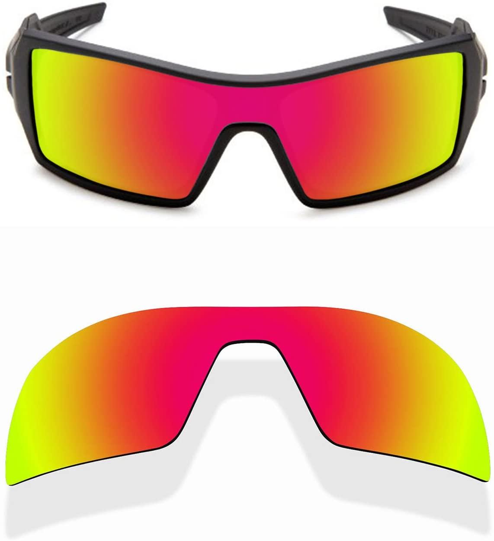 Sunnyblue2 Polarized Replacement Lenses for Oakley Oil Rig Sunglasses (Orange)