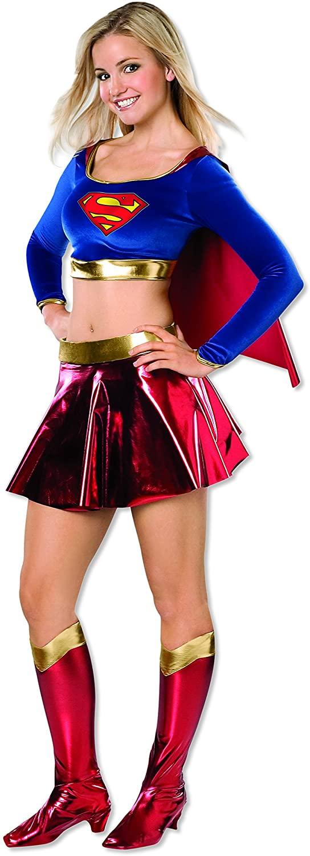 Rubie's Costume Co Women's DC Superheroes Supergirl Teen Costume