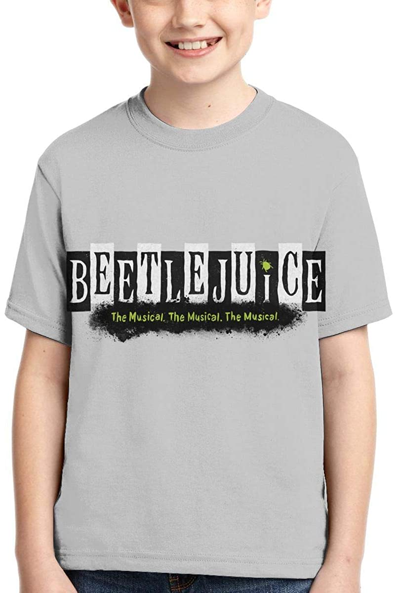 Yangxud Boys,Girls,Youth Beetlejuice T Shirt