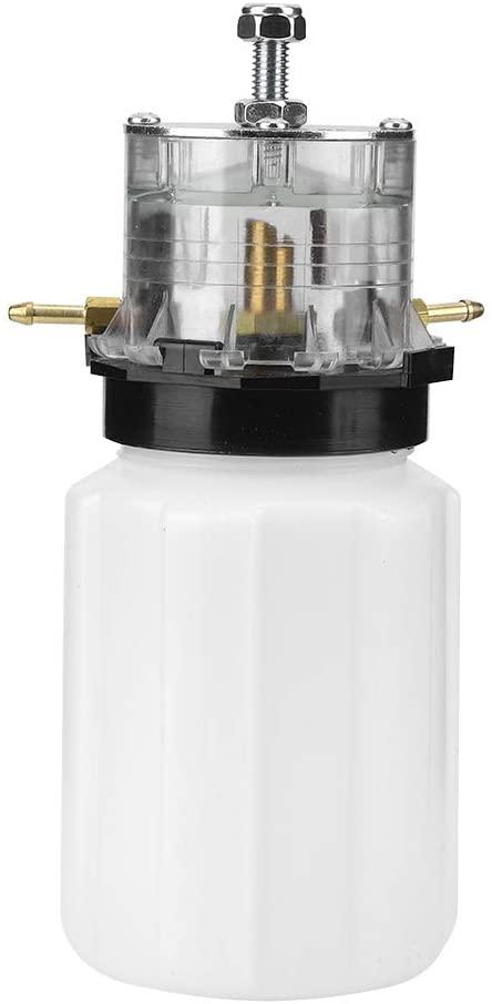 Milking Vacuum Pump Machine, Specially Designed Plastic Vacuum Pump Accessory Milker Oil Pot Can for Cow Sheep Goat