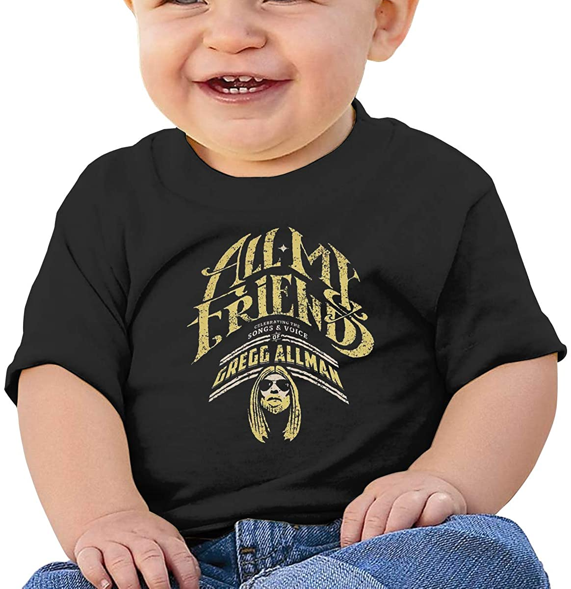 AP.Room Short Sleeve Comfortable Shirt Gregg Allman Baby T-Shirt