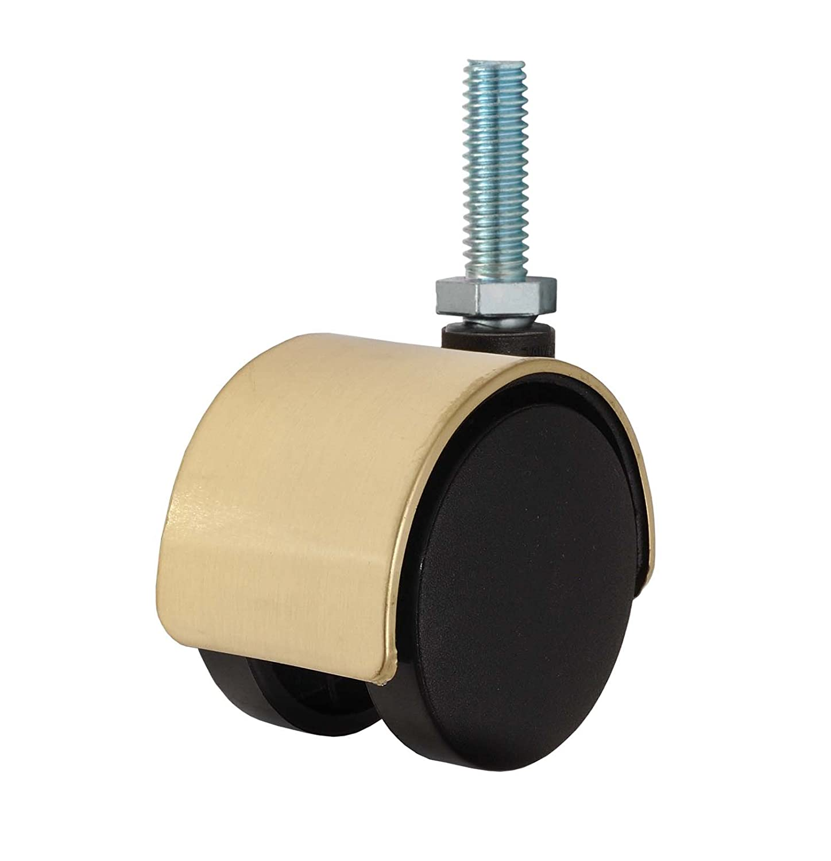 Twin Wheel Caster Solutions TWHN-50N-T10-BR 2