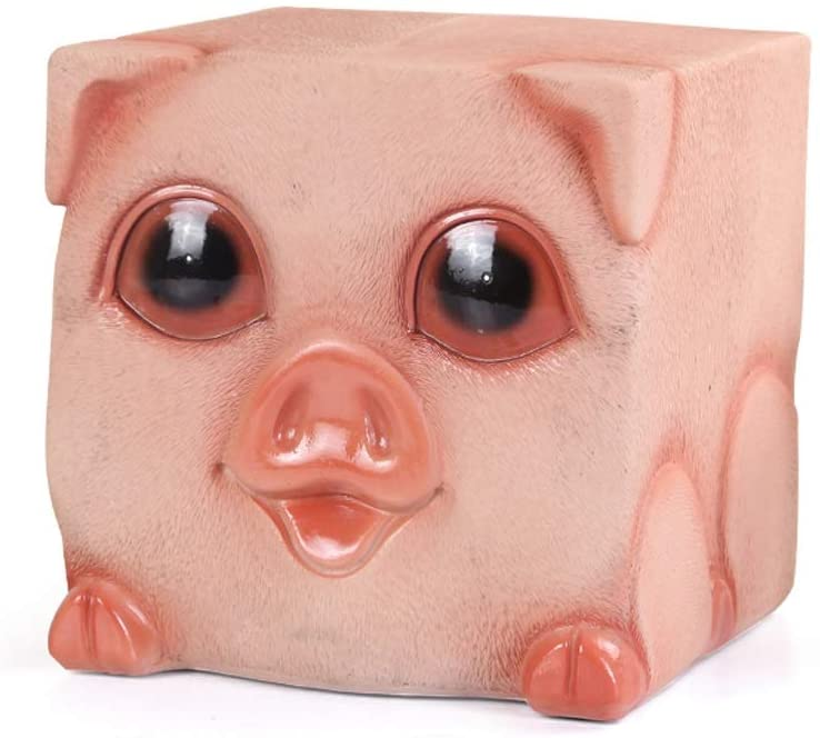 Money Banks Home Décor Storage Resin Animal Styling Only Entering Piggy Bank Childrens Banknotes Coin Large Storage Tank Decoration Gift Piggy Banks Furniture Games (Color : C)