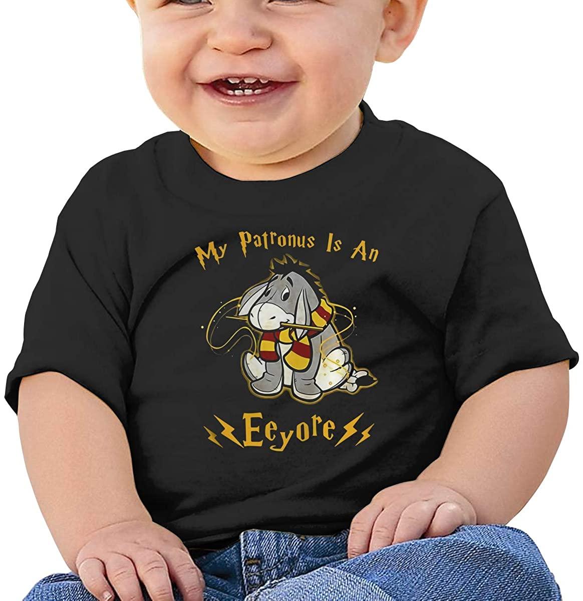 Funny My Patronus is an Eeyore Comfortable Baby T-Shirt