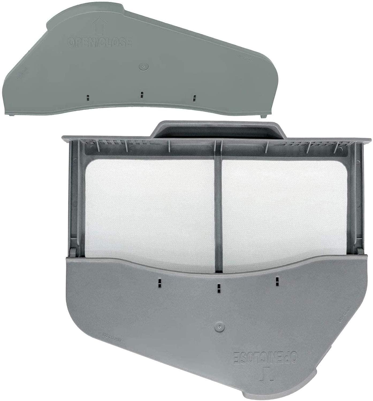 DC97-16742A Dryer Lint Screen With Flap & DC61-02610A Dryer Lint Screen Case Fit DV422GWHDWR DV45H7000EW DV48J7700EW DVE50R5200W