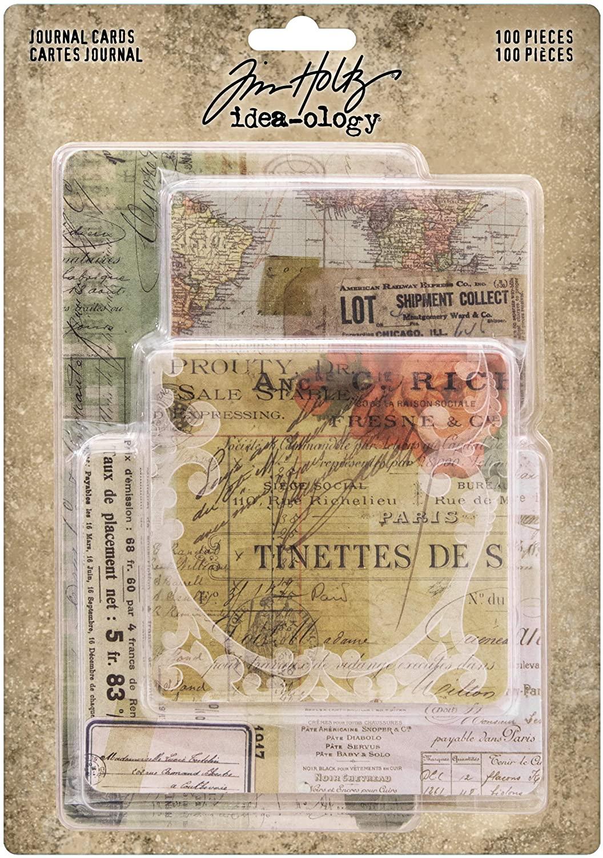 Tim Holtz, Advantus Journaling Cards, multicolor
