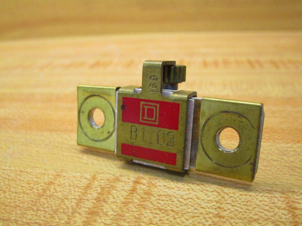 Square D B1.03 Overload Relay Heater Element B103 (Pack of 7)