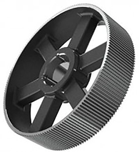 Ametric 14M144TL40.3020 Cast Iron HTD Timing Pulley no Flange, 14M Pitch, for a 40 mm Wide HTD Timing Belt, 144 Teeth, for 3020 Taper Lock Bushing,(1-016)