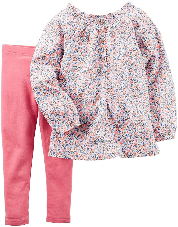 Carter's Baby Girls' 2 Pc Playwear Sets 239g281