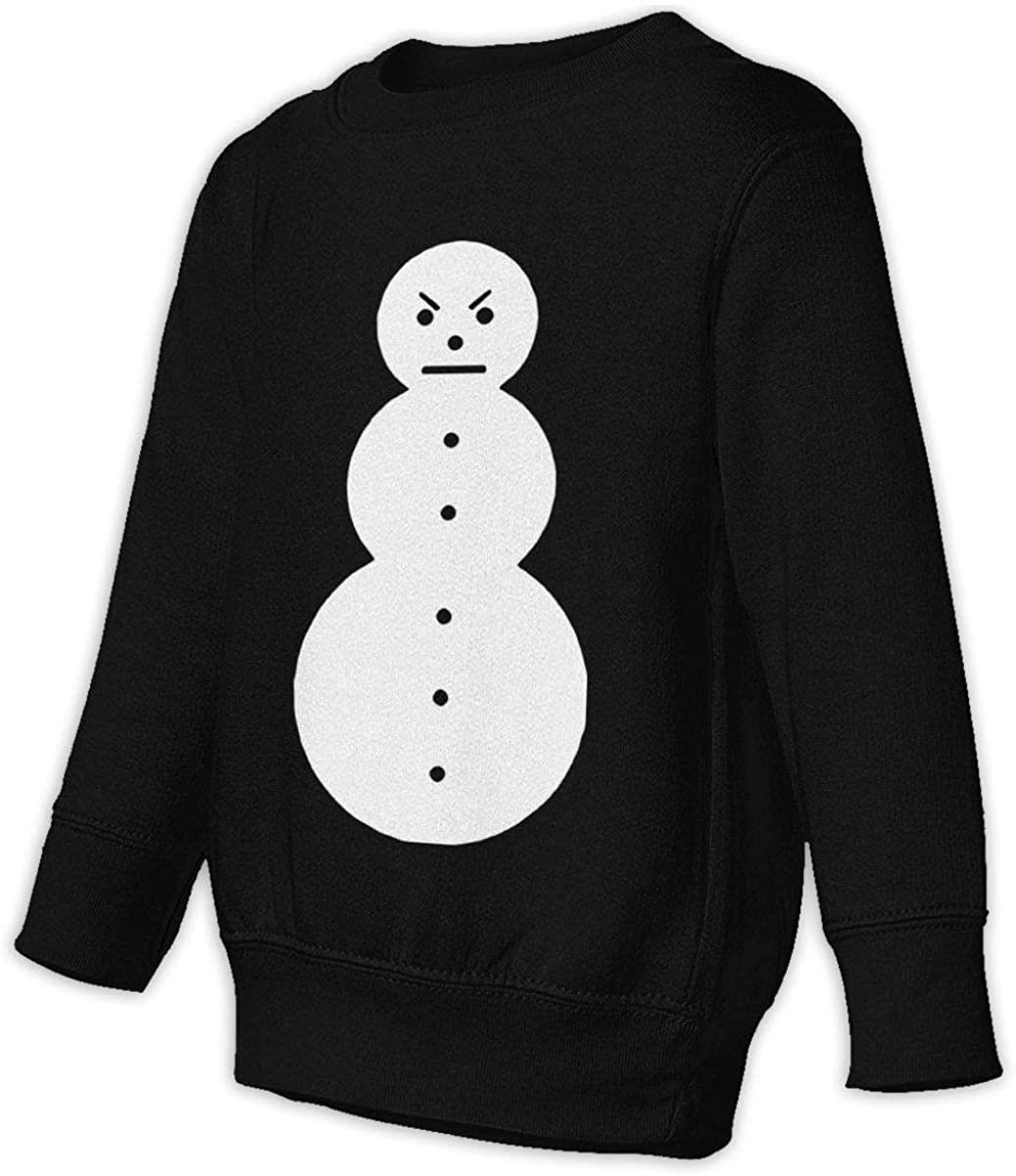LSHLKJDFN Jeezy Snowman Unisex Sweatshirt Youth Boy and Girls Pullover Sweatshirt Black