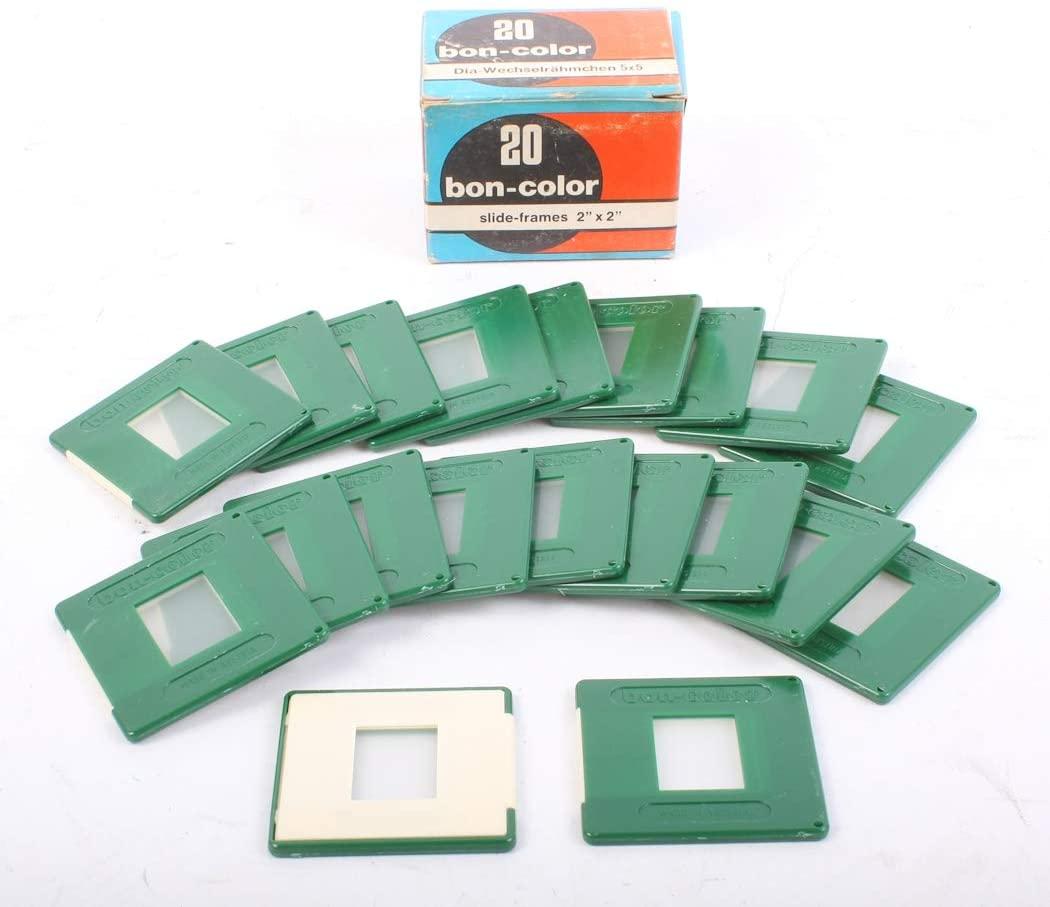 Slide MOUNTS Bon Color 18 X 24, Glass, New in Box