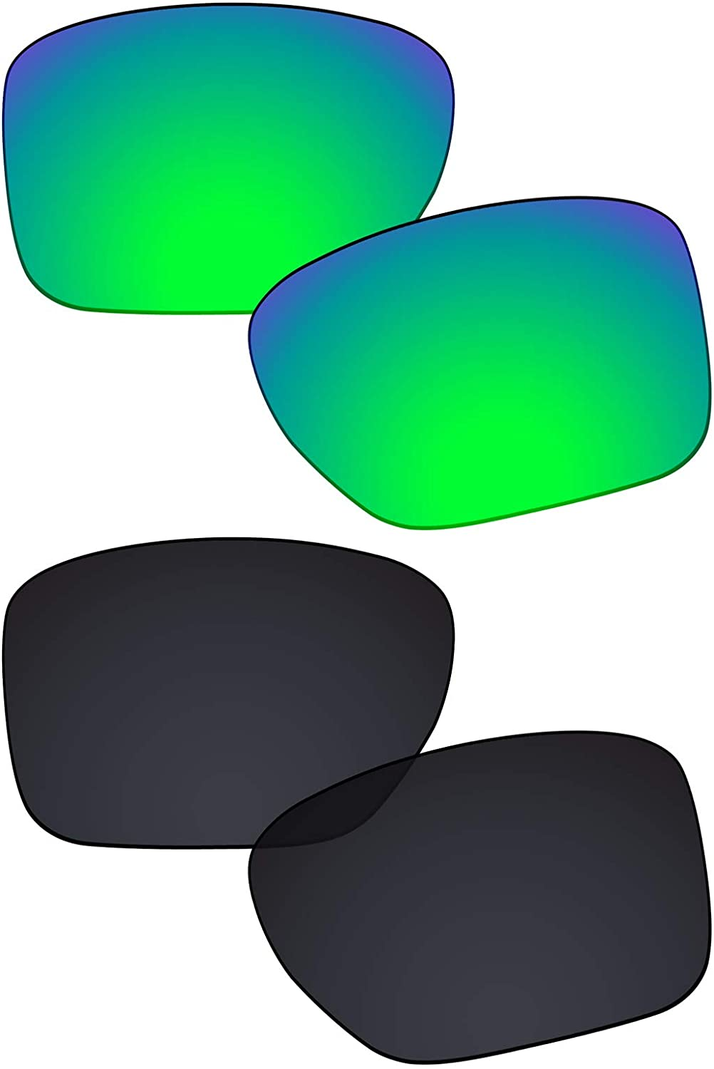 Galvanic Replacement Lenses for Oakley Sliver XL OO9341 Sunglasses - Multiple Choices