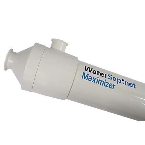 WaterSep BA 030 05MAX24 SH Maximizer24 Reuse Hollow Fiber Cartridge, 30K Membrane Cutoff, 0.5 mm ID, 117 mm Diameter, 724 Length, Polyethersulfon/Polysulfone/Urethane