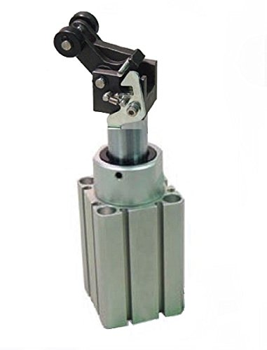 Fabco-Air STG50X30C Stopper Cylinder, Lever Rod End with Latch, Single Acting, Spring Extended Rod, 50 mm Bore, 30 mm Stroke