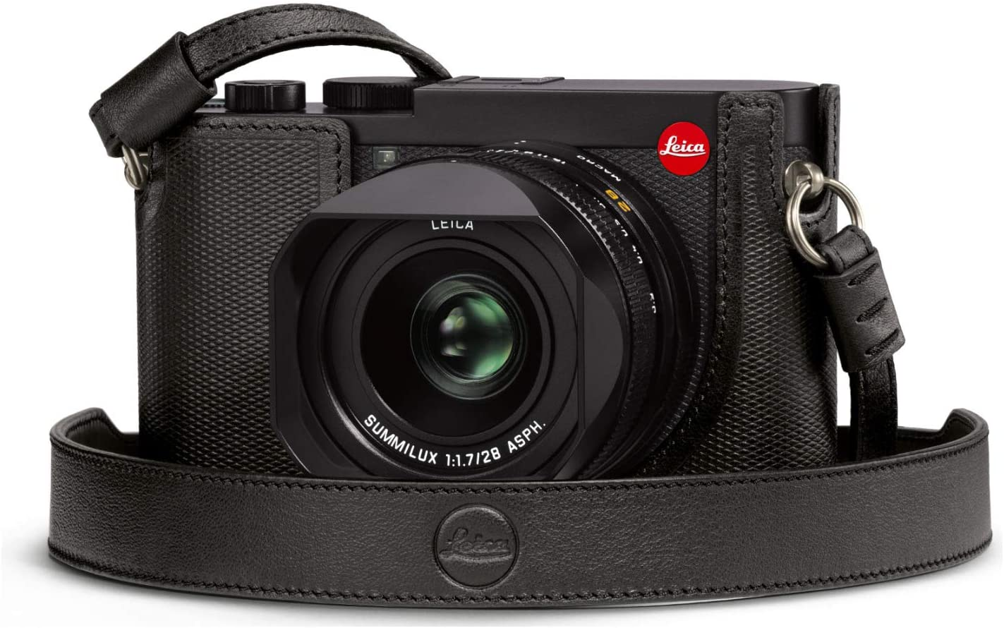 Leica Leather Carrying Strap Q2, Black