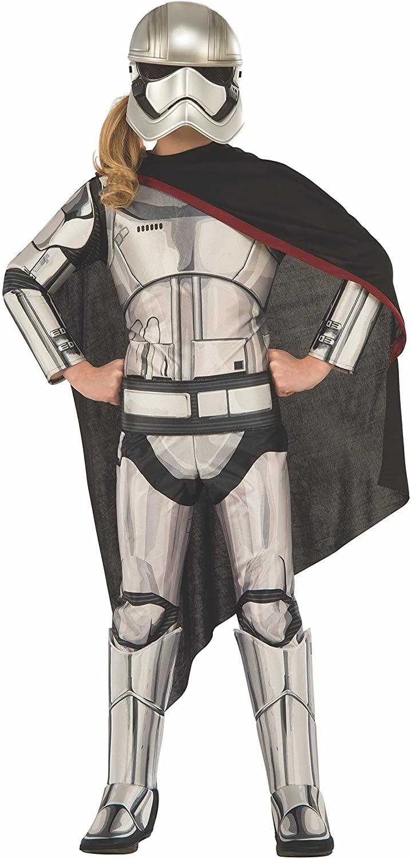 Girls Deluxe Captain Phasma Star Wars Costume
