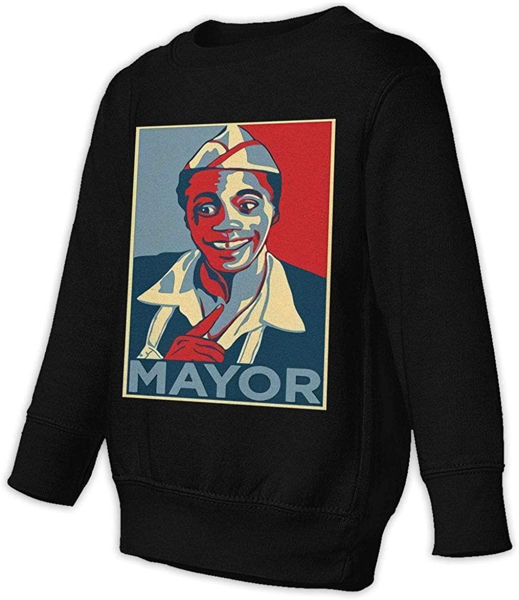 Manbeak Back to The Future - Mayor Goldie Wilson Hope Unisex Sweatshirt Youth Boy and Girls Pullover Sweatshirt