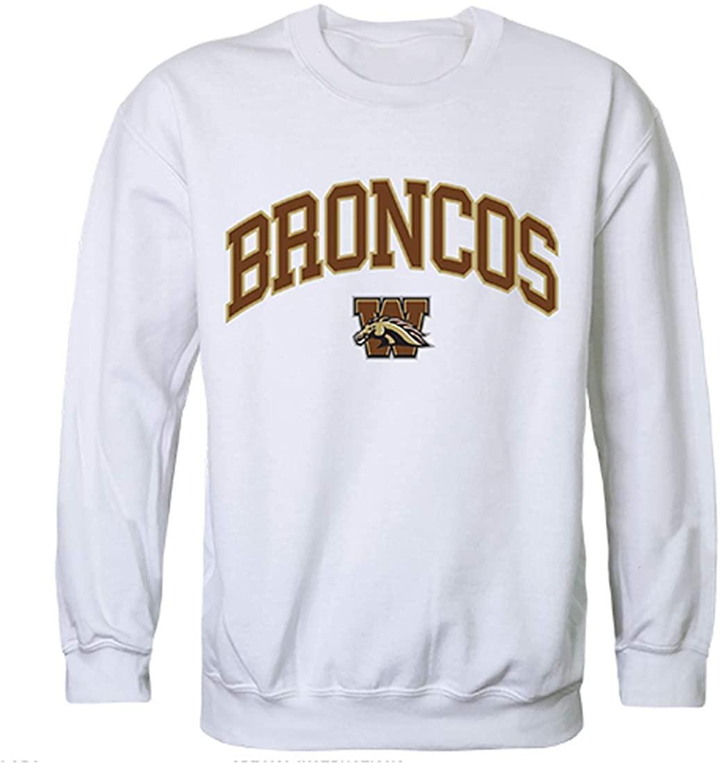 W Republic WMU Western Michigan Broncos NCAA Men's Campus Crewneck Fleece Sweatshirt