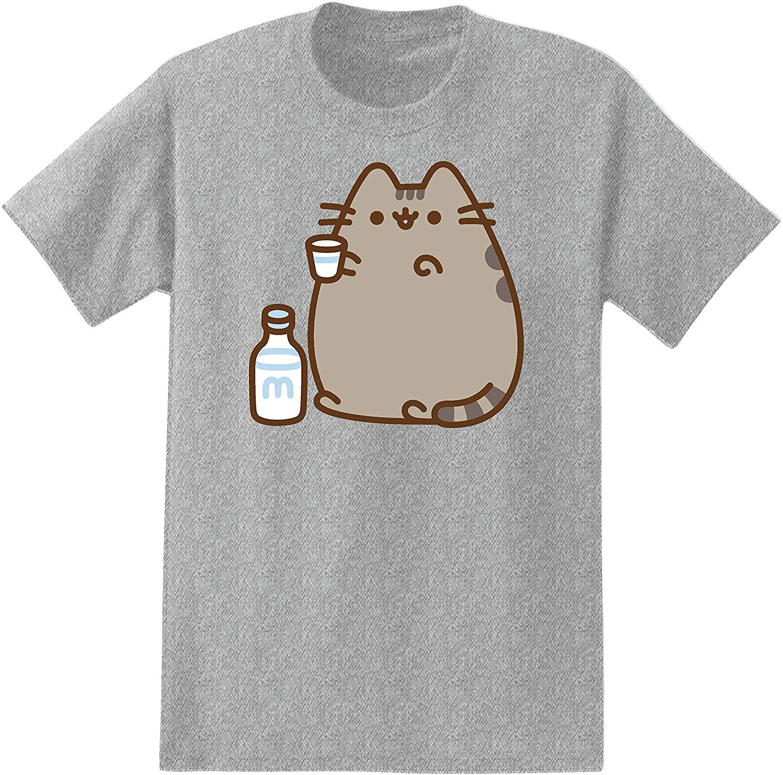 Pusheen Mens The Cat Shirt The Cat Vintage T-Shirt