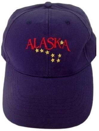 Alaska Big Dipper Stars Hat Ball Cap Souvenir