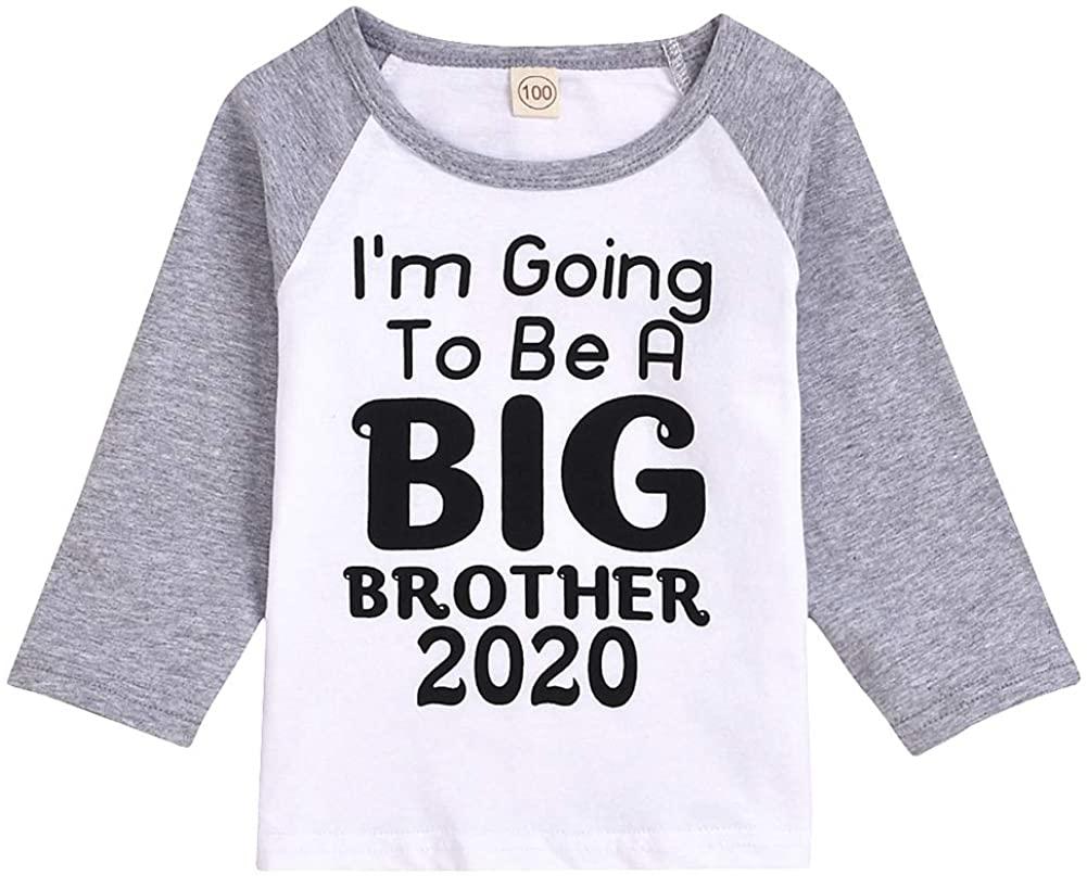 Toddler Baby Kid Girls Big Sister Short Sleeve T-Shirt Top+Bowknot Tutu Skirts Clothing Set