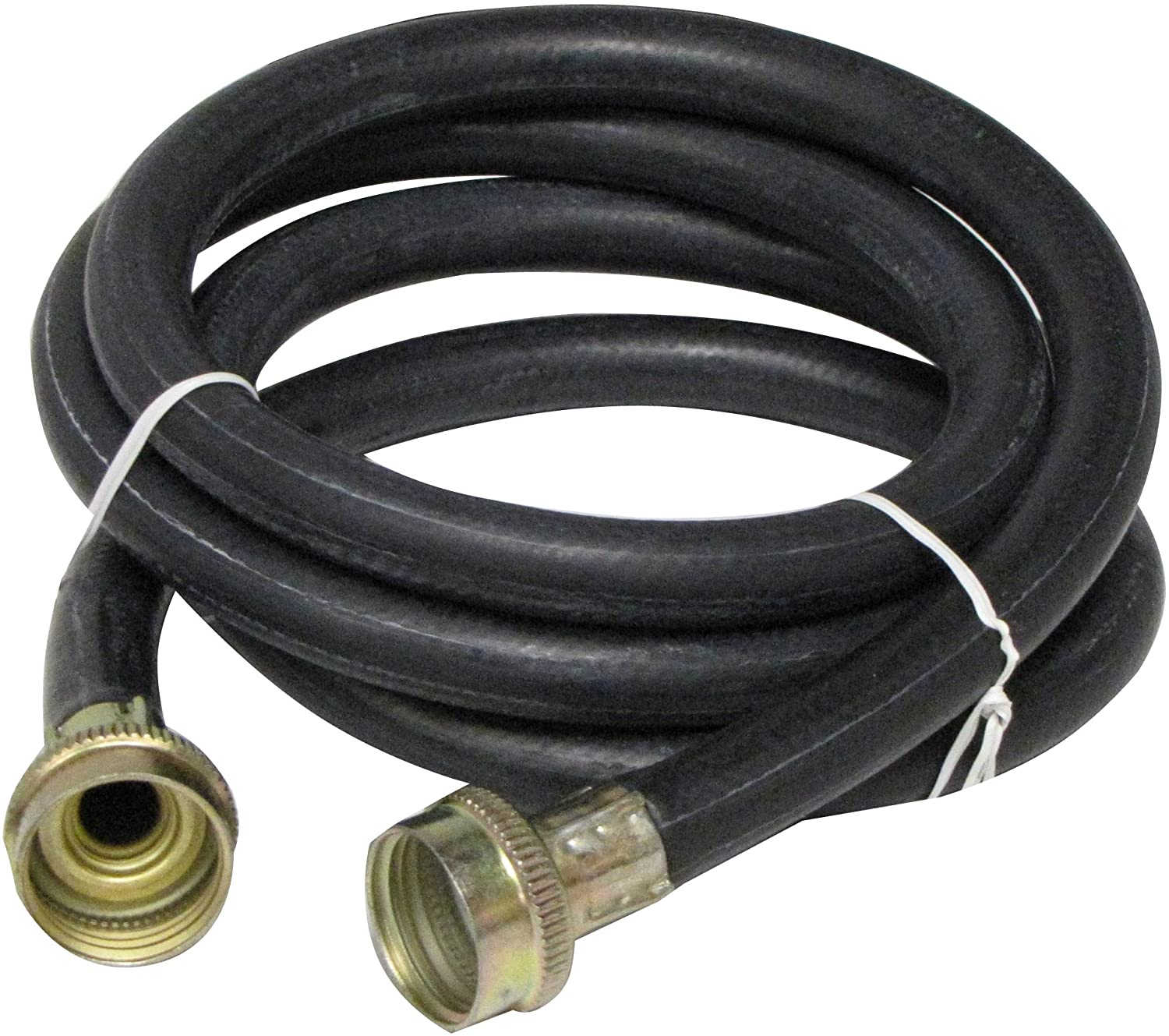 Plumb Pak PP850-2 Washing Machine Hose, 6 Ft, Female, Rubber, 6', Black