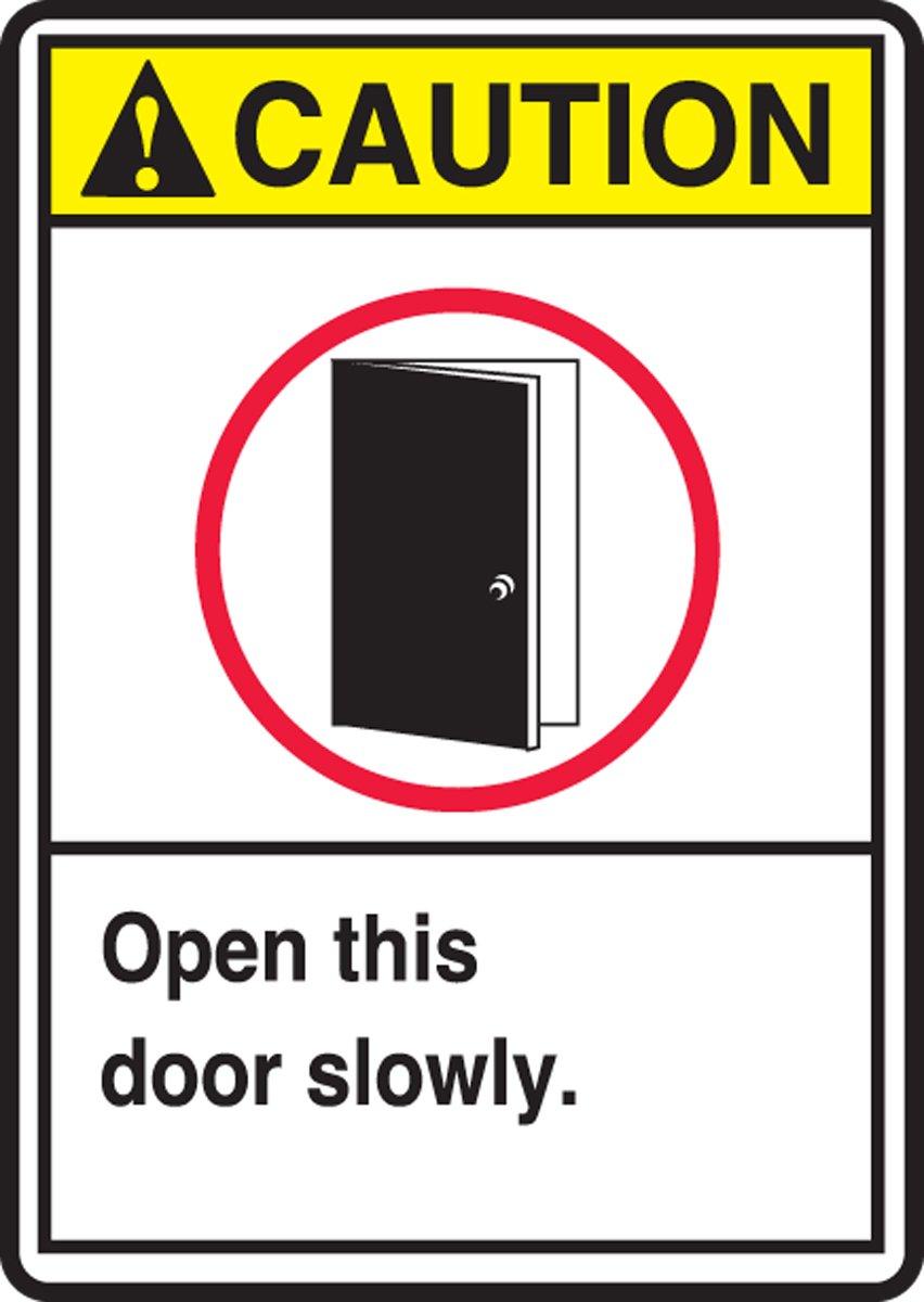 OPEN THIS DOOR SLOWLY (W/GRAPHIC) (3 Pack)