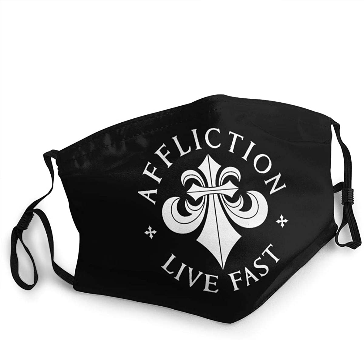 Affliction Unisex Dust-Proof And Wind Proof Comfortable Face Scarf With Head Scarf And Neck Scarf