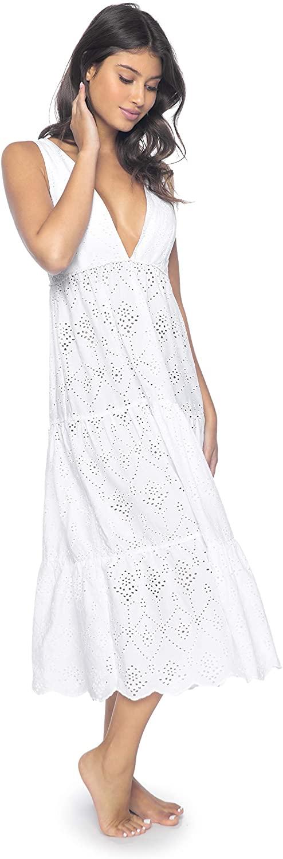 PilyQ Womens Anne Eyelet Dress