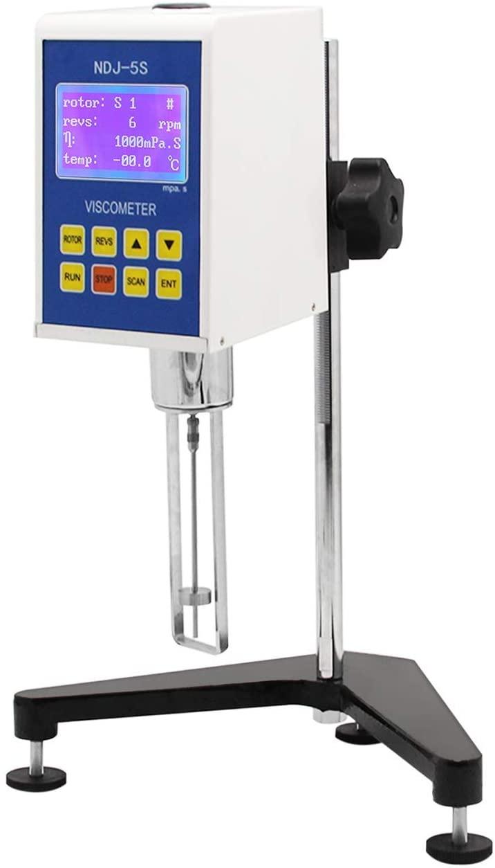 CGOLDENWALL NDJ-5S Digital Rotational Viscosity Meter Viscometer Rotary visometer 110V 10~100,000mPa.s Accuracy:+-3.0%