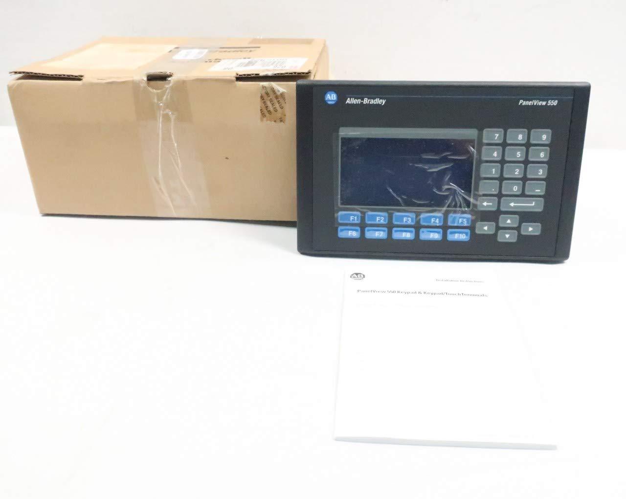 Allen Bradley 2711-K5A8L1 PANELVIEW 550 Interface Panel SER H Rev B D630202