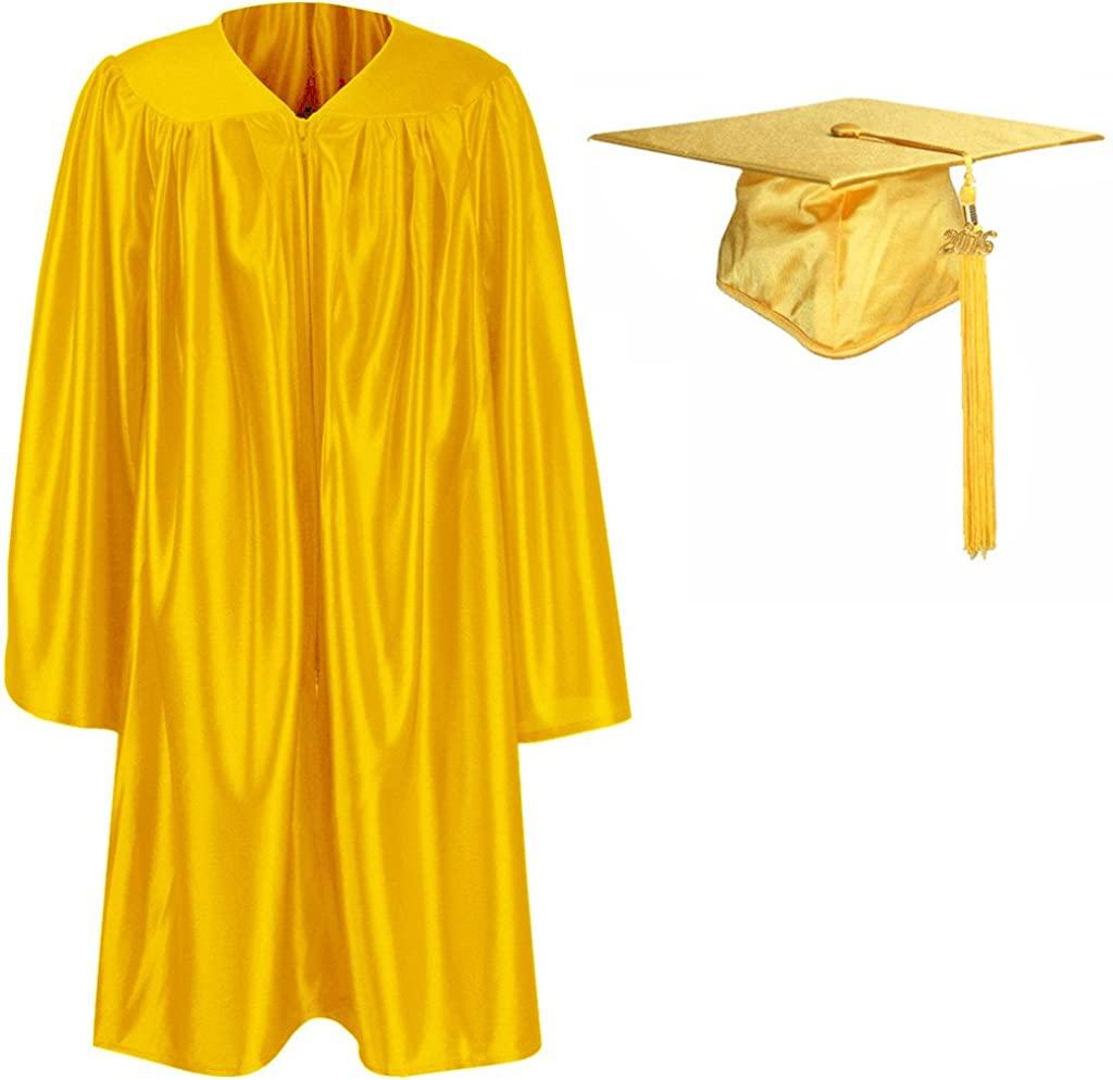 GraduationMall Unisex Kindergarten Graduation Gown Cap Tassel Set 2017 (2018 Optional)