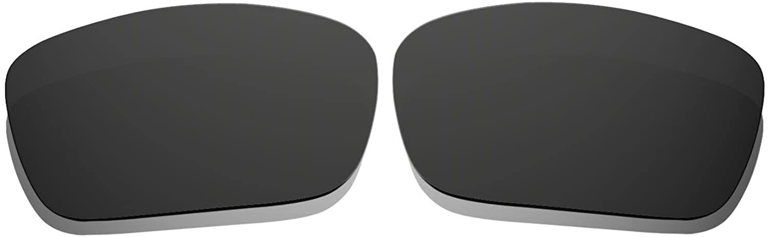 Black Polarized Replacement Lenses for Oakley Fuel Cell Sunglasses