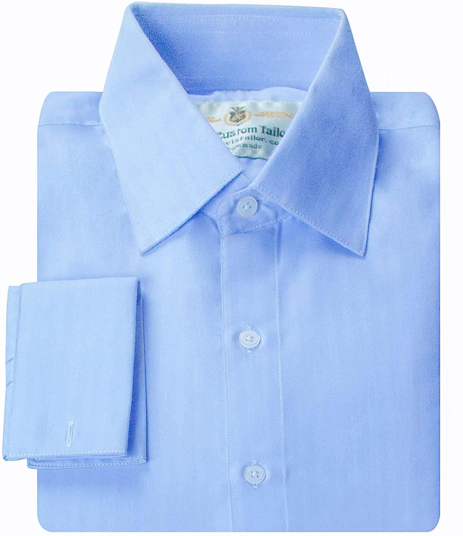 Mens Shirts Style no.15947 Cornflower Blue All-Seasons Twill
