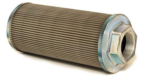 Flow Ezy Filters, Inc. 50 2 200 All Metal Suction Strainer, Cast Aluminum Connector End, 50 GPM, 2 Female NPT, 200 Mesh Size