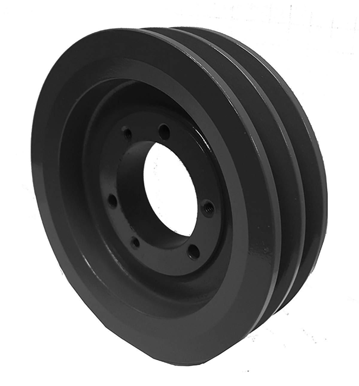 Powerhouse HTD 2B46SDS V-Belt Pulley - Cast Iron