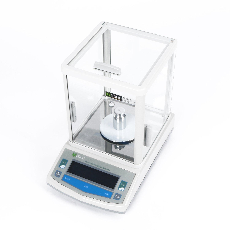 U.S. SOLID 0.001g 1mg Analytical Balance Digital Lab Precision Scale 200g